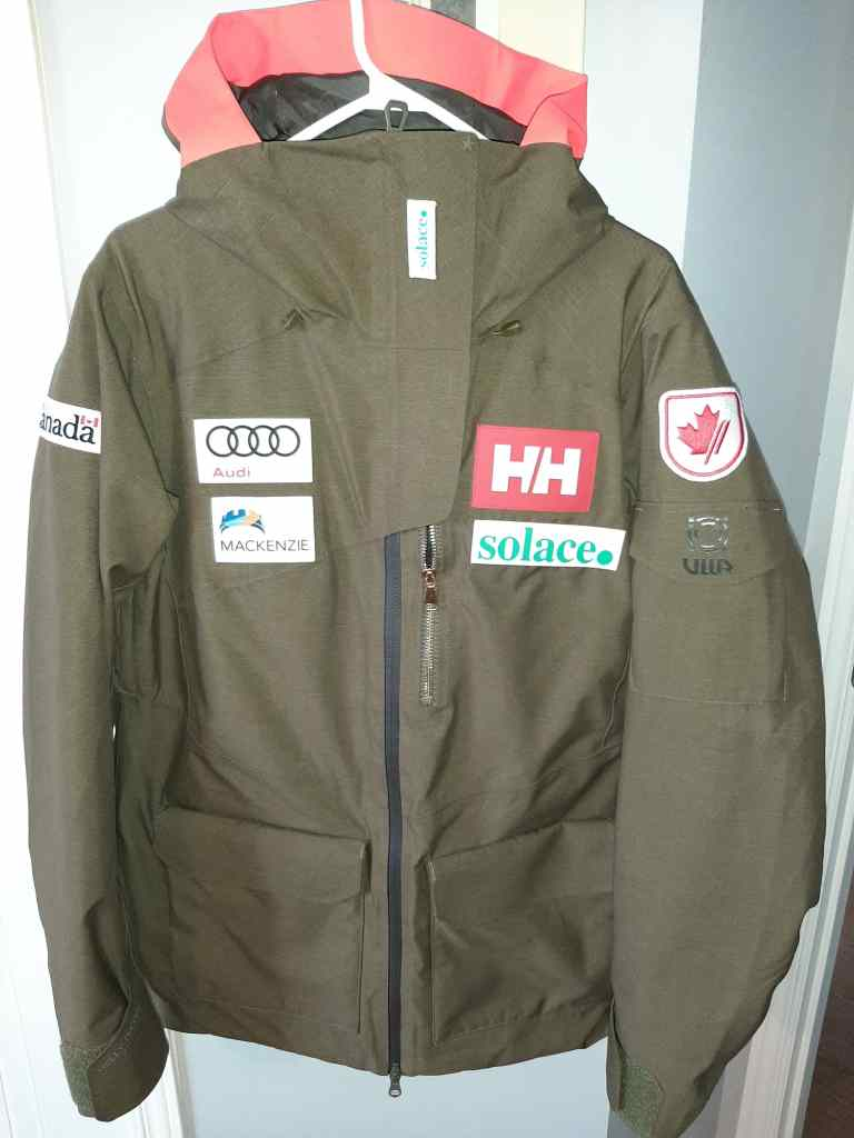 Alpine Canada  Helly Hansen National Team Jacket Size L