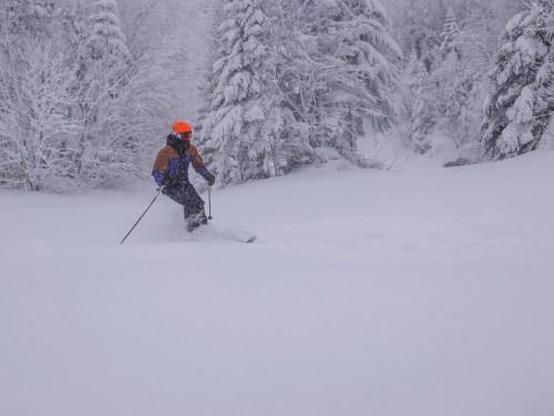 Encore de la neige ce 23 janvier