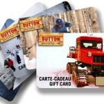 Carte cadeau SUTTON