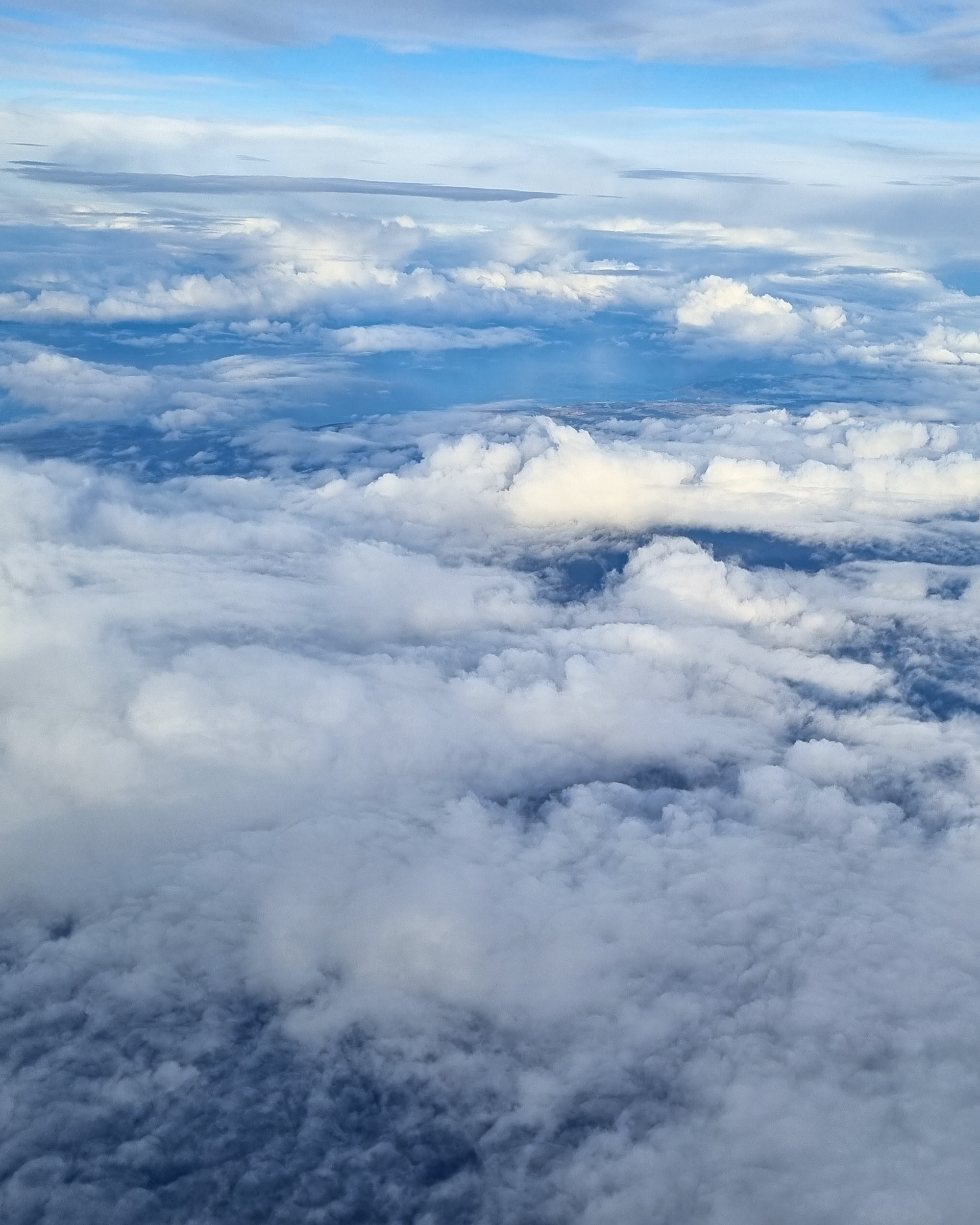Flying into Hobart