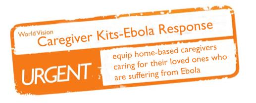 ebola kits screen shot