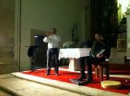 Concerto na igrexa: Pedro Lamas e Xosé Lois Romero
