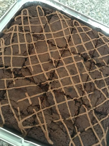 Brownie Traybake