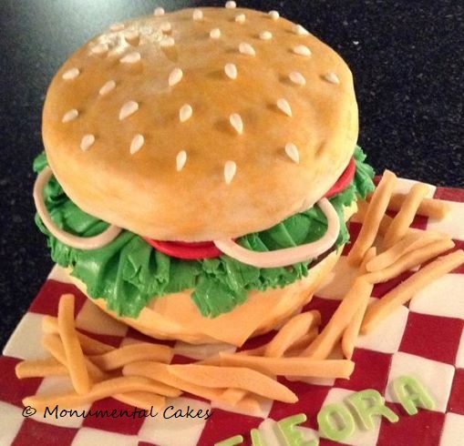 Burger & Chips