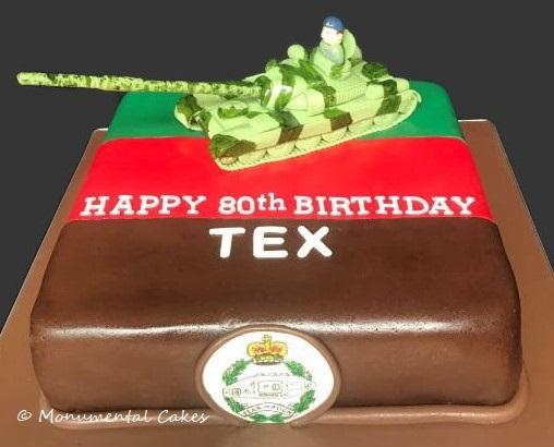 80th Birthday - Tank