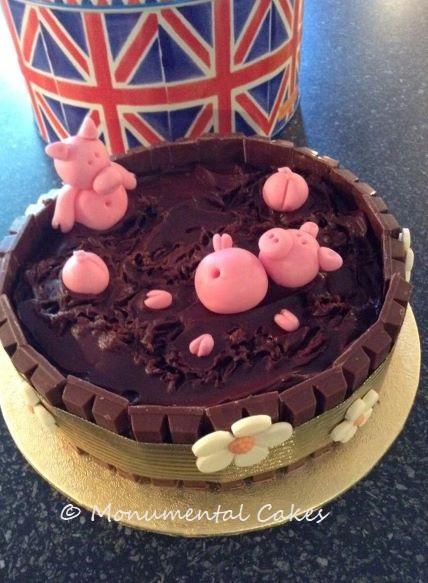 Pigs in Chocolate Mud