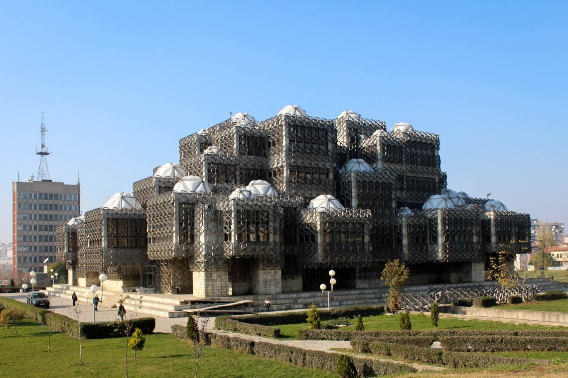 National Library of Kosovo - Monumentalism