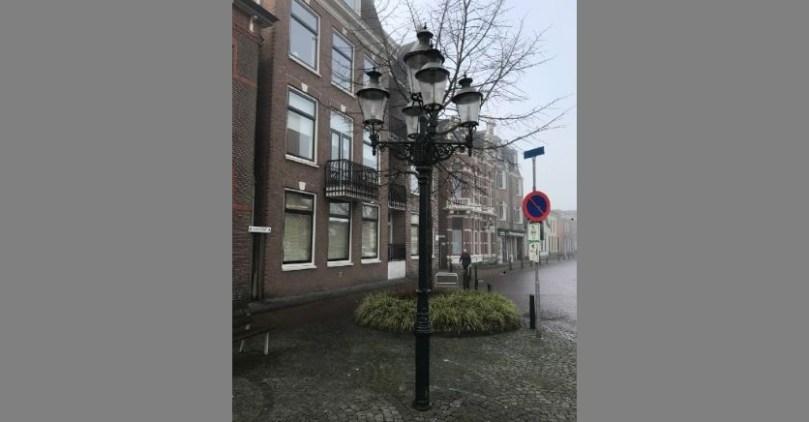 lantaarnpaal Marktstraat
