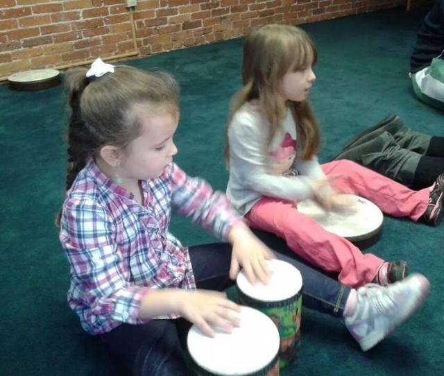 Jamming At Kiddie Music Time Childrens Music Class