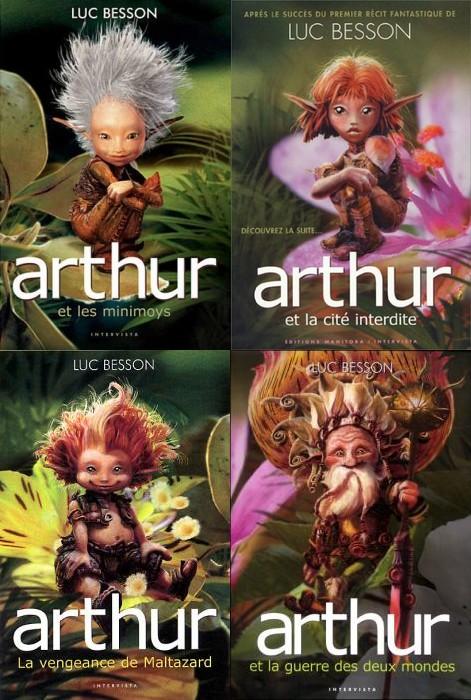 Arthur Et Les Minimoys 4 : arthur, minimoys, Arthur, Minimoys,, Tomes, Besson, Bienvenue, Univers, Fantasy