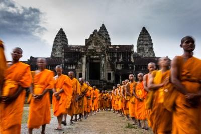 Visea Bochea à Angkor Wat