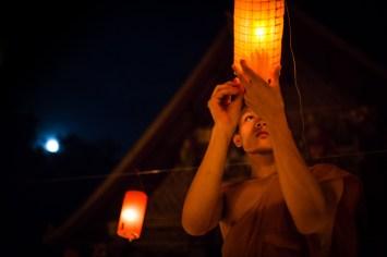 LAOS - Festival des lanternes
