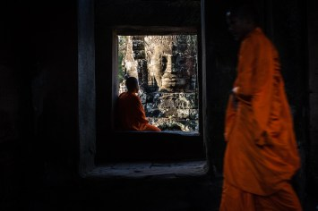 Monk in Bayon