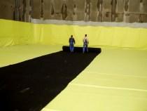 Μεμβράνη PVC, τοποθέτηση,μόνωση