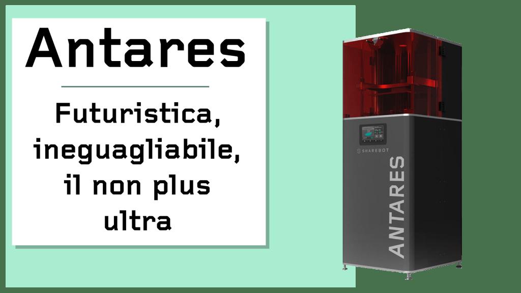 Prodotti Sharebot Monza stampante 3d Sharebot Antares