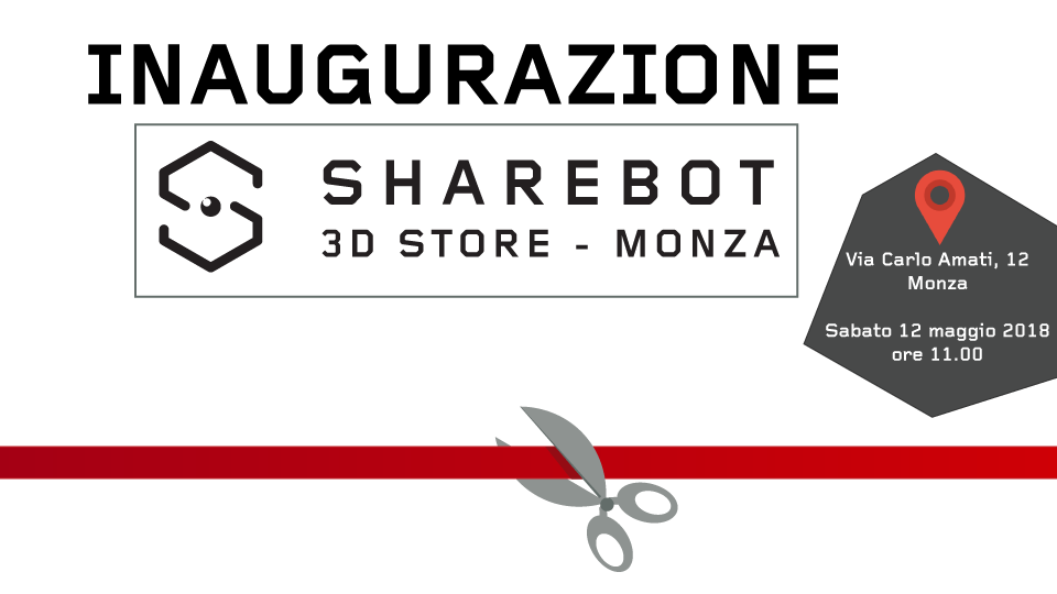 Inaugurazione Sharebot Monza stampa 3D