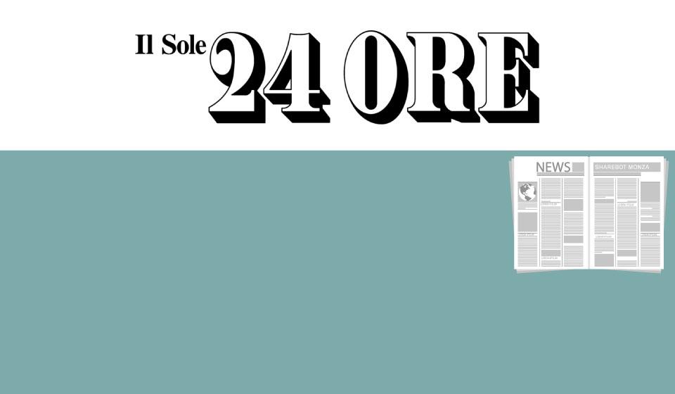 articoli sharebot monza il sole 24 ore