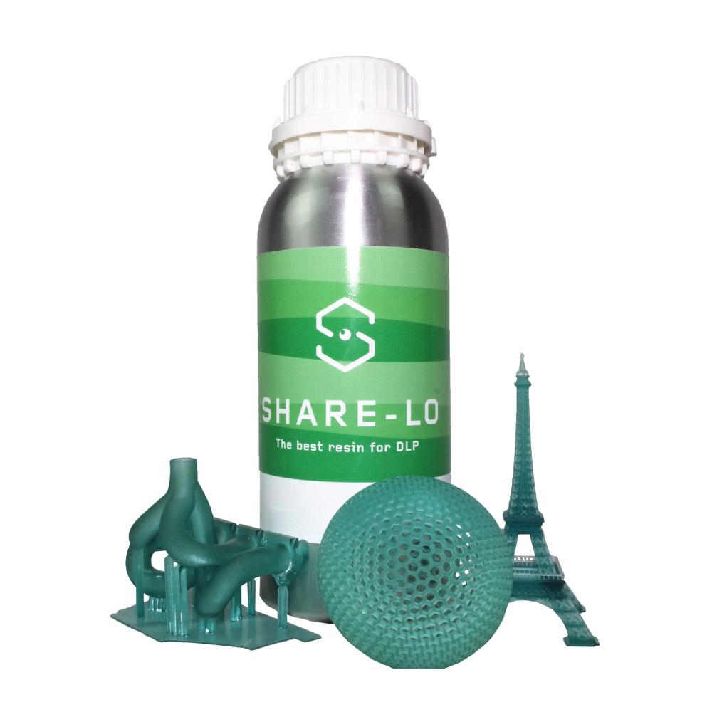 resine stampa 3d sharelo sharebot monza