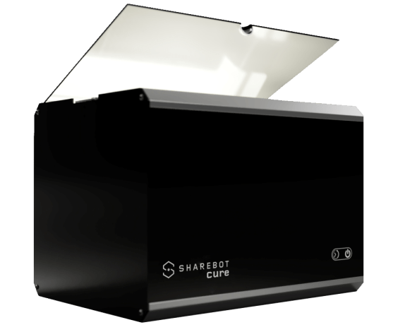 sharebot cure stampante 3d resina grande formato sharebot monza