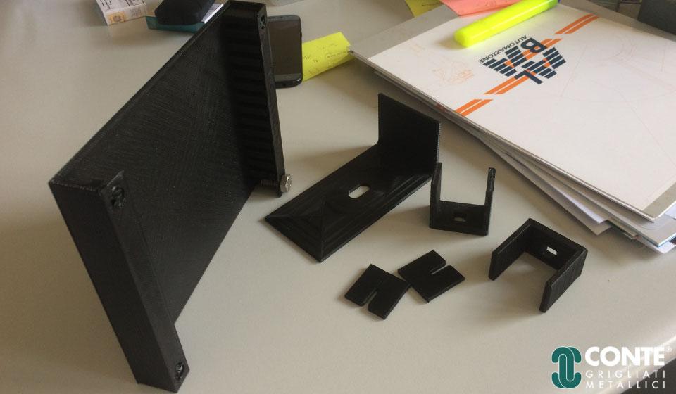 prototipi grigliati metallici conte srl stampa 3d sharebot monza