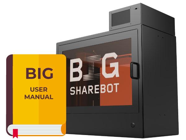 manuale sharebot big stampante 3d store monza
