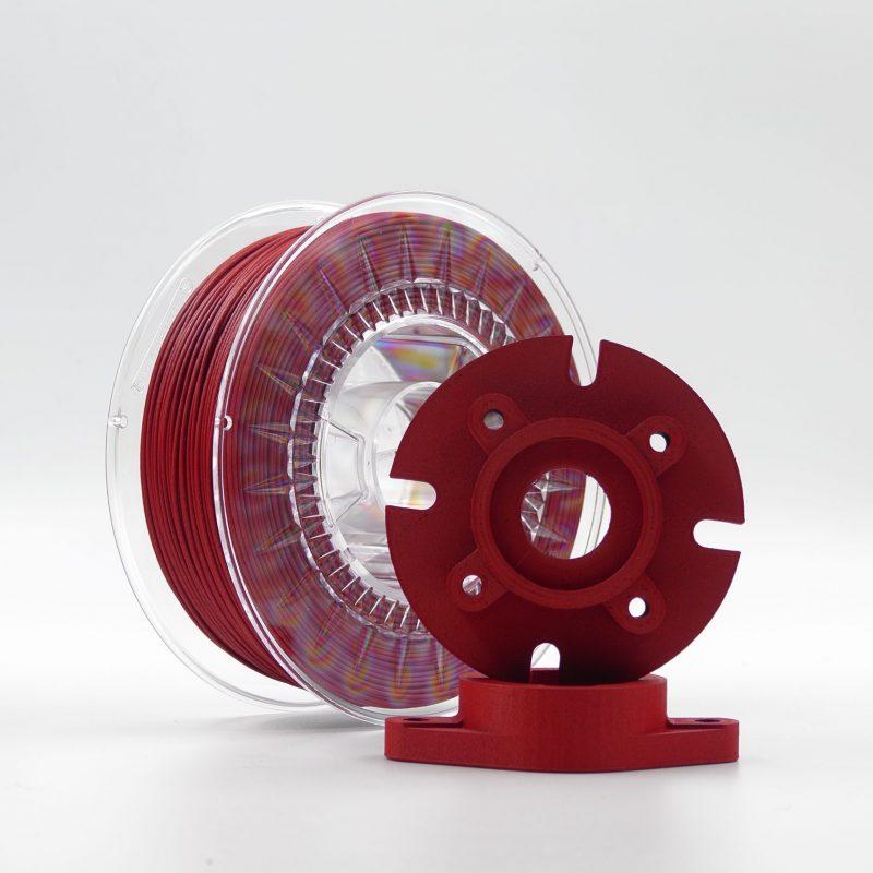 prototipi in nylon carbonio rosso stampa 3d store monza sharebot