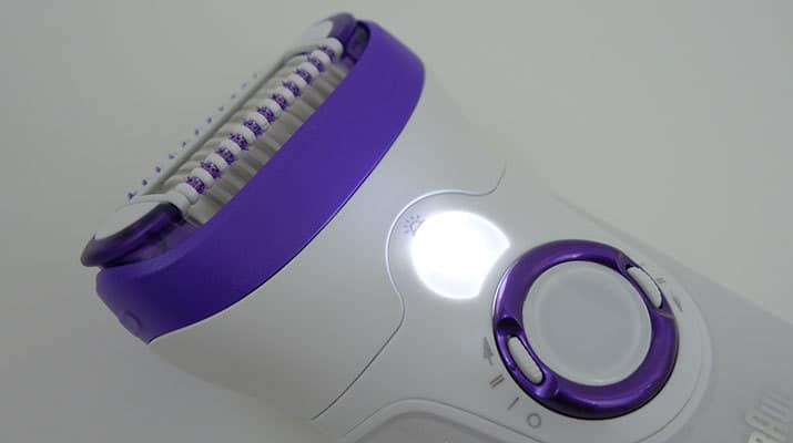Braun Silk Epil 9 Epilierer mit intelligentem, hell leuchtendem Licht
