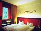Cocoon hotel room