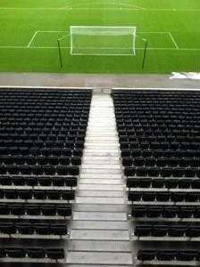 What The East Stand Does - Looking Down on the Cowshed