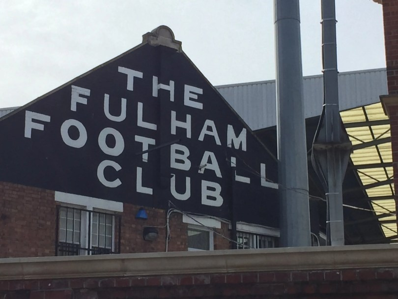 Not just A, but The Fulham Football Club