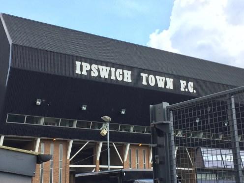 Ipswich Town Earlier Today