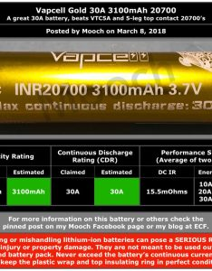 am estimating vapcell gold  mah battery ratings at and also mooch batteries reviews blog rh moochreviews