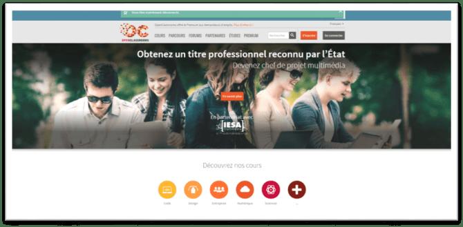 MOOC Openclassrooms IESA ( Groupe Studialis)