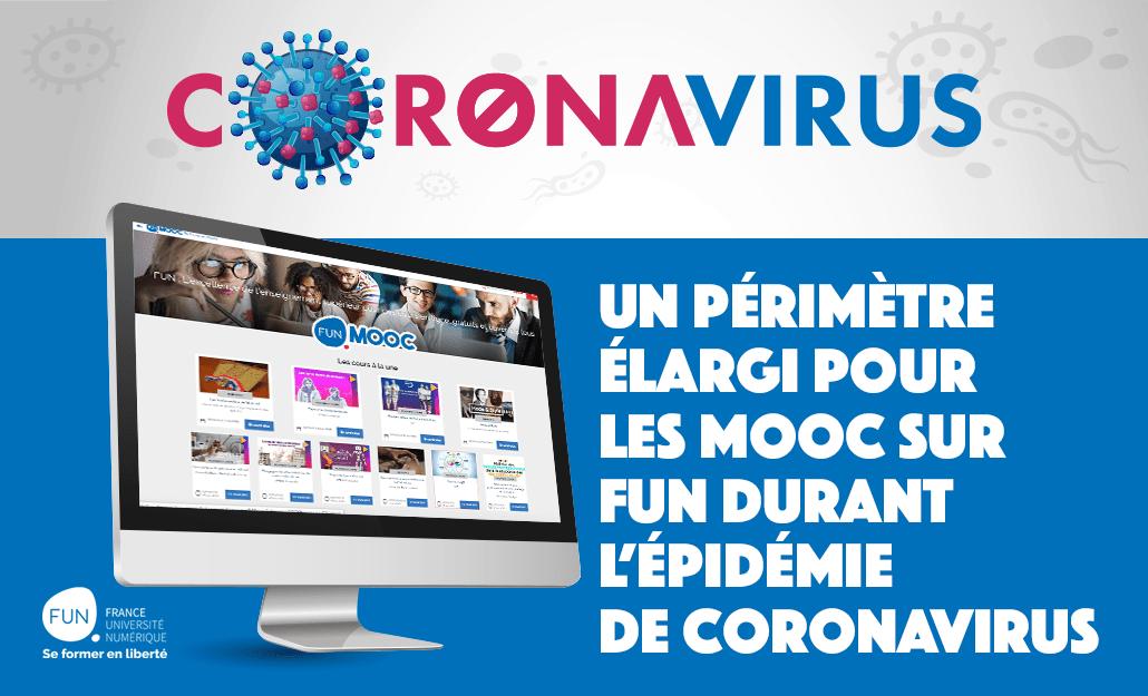 Crise du Coronavirus : FUN MOOC se mobilise