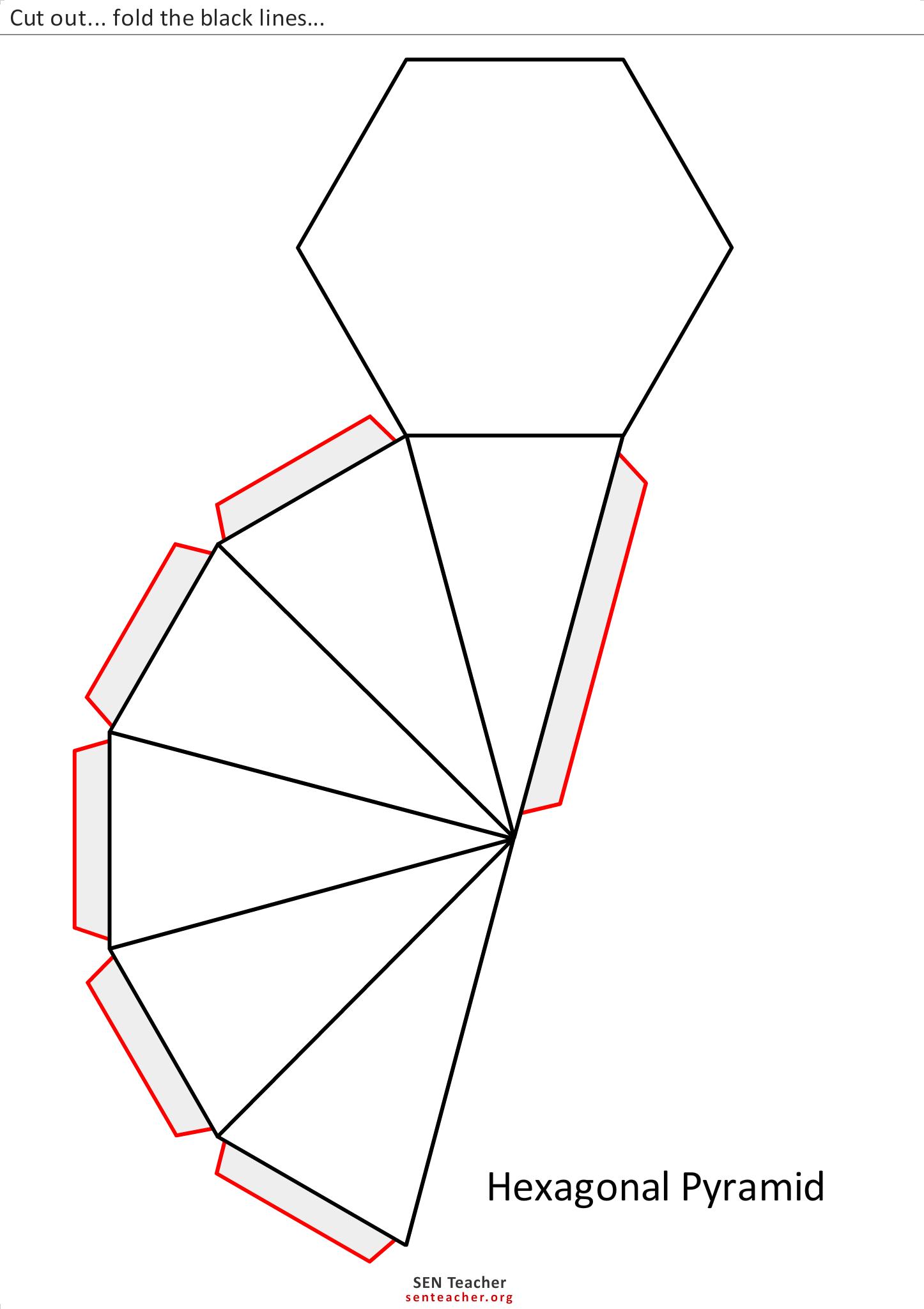 Geo_LurieMST: Net Hexagonal Pyramid