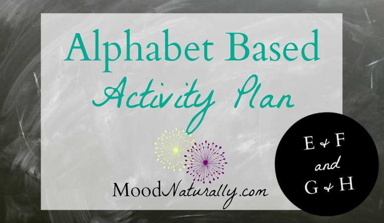 Alphabet Based Activity Plan – EFGH