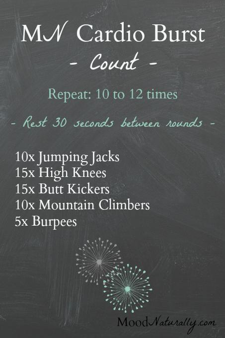 Cardio Burst - Count