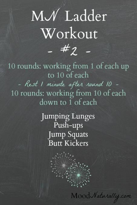 MN Ladder Workout #2