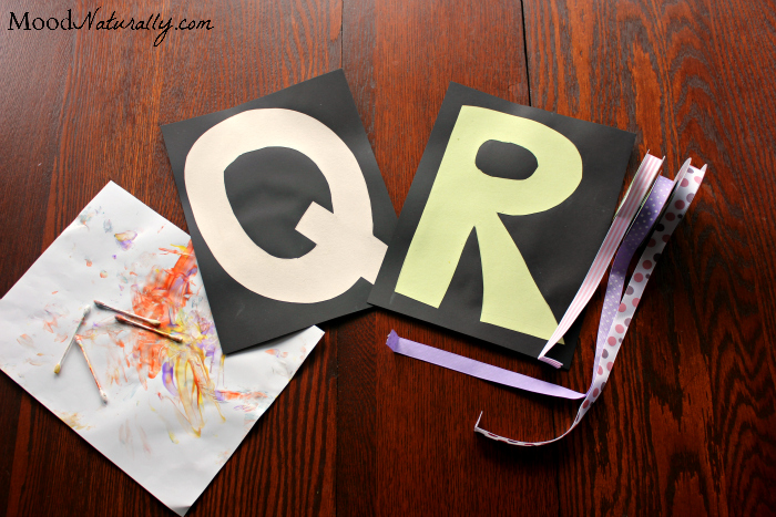 Alphabet Based Activity Plan - Q&R