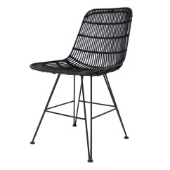 Gray Rattan Dining Chairs Anywhere Chair Replacement Cover Black Hk Living