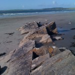 Some rocks at Rosses Point. I sat here and soaked it all in!