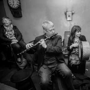 Top class musicians in action in Connollys