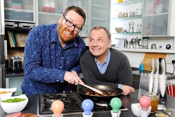 Frankie Boyle and Bob Mortimer