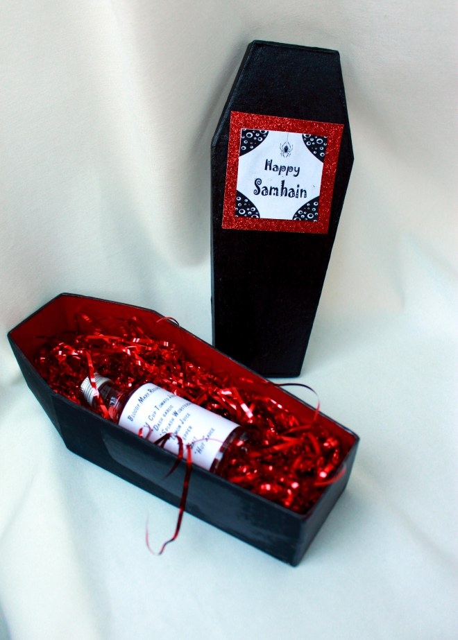 samhain coffin craft