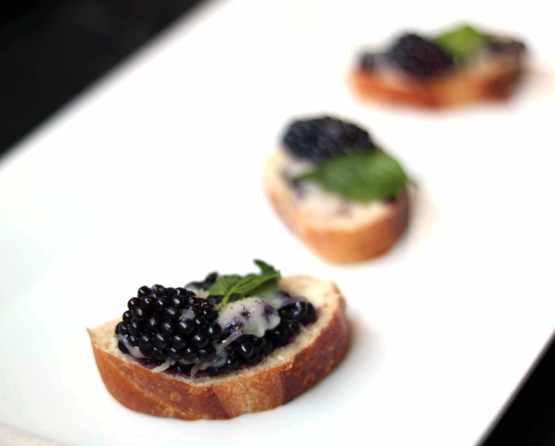 blackberry bruschetta 1