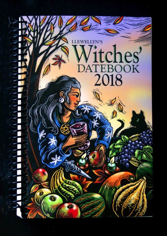 2018 witches' datebook