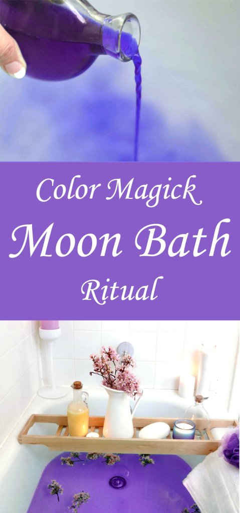 Color Magick Moon Bath Ritual - Moody Moons