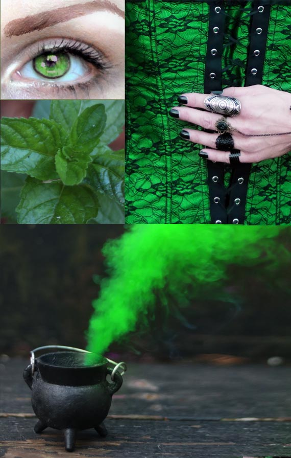 10 Ways To Use The Color Green In Witchcraft