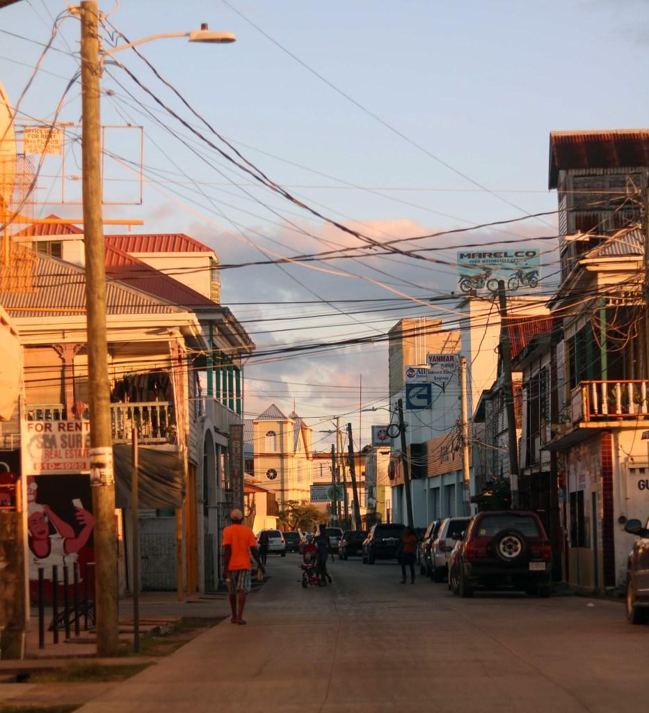 Belize City street photography.