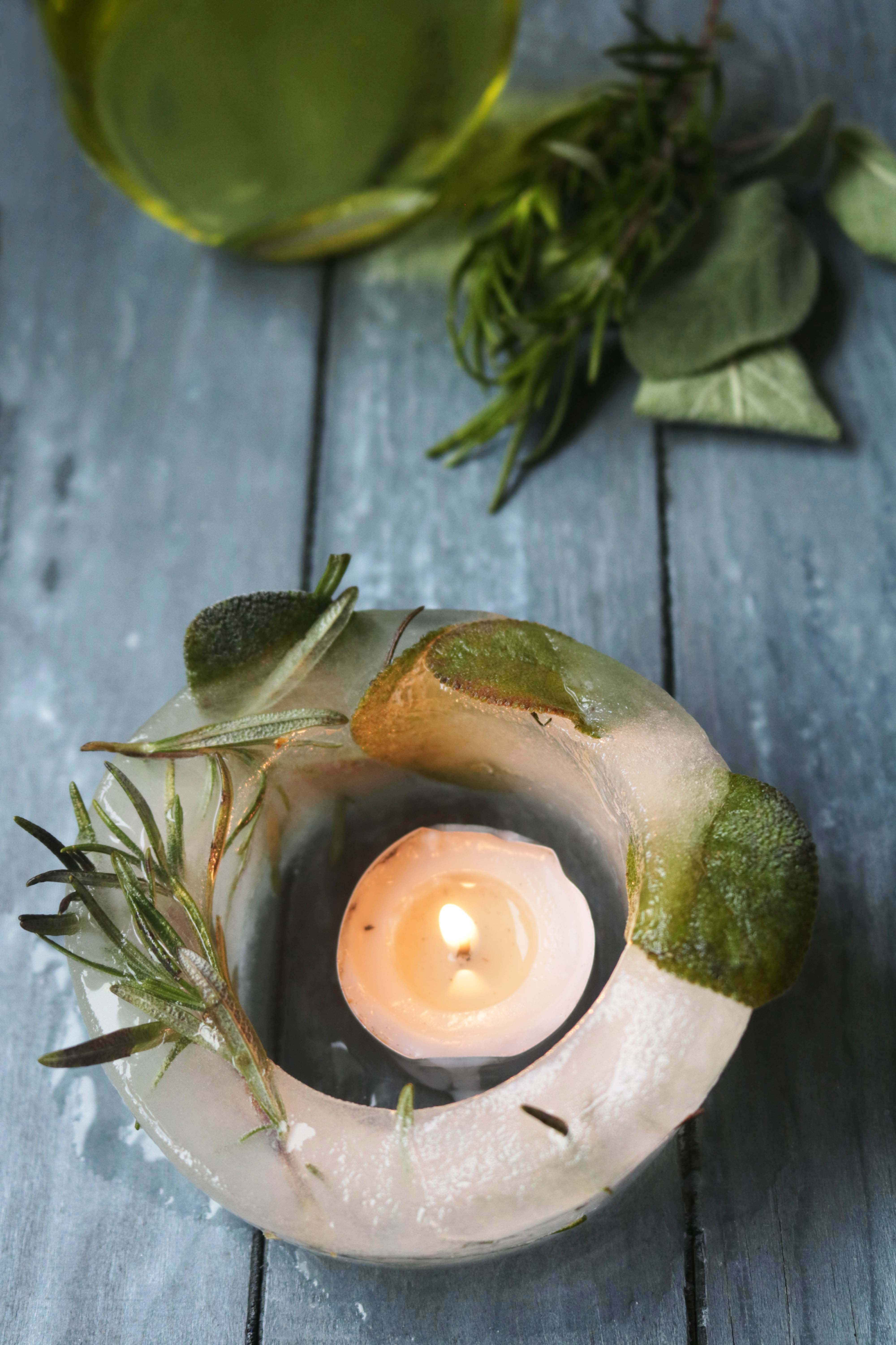 For a fun, 100% natural Imbolc craft, trying making this ice lantern with materials already in your kitchen.